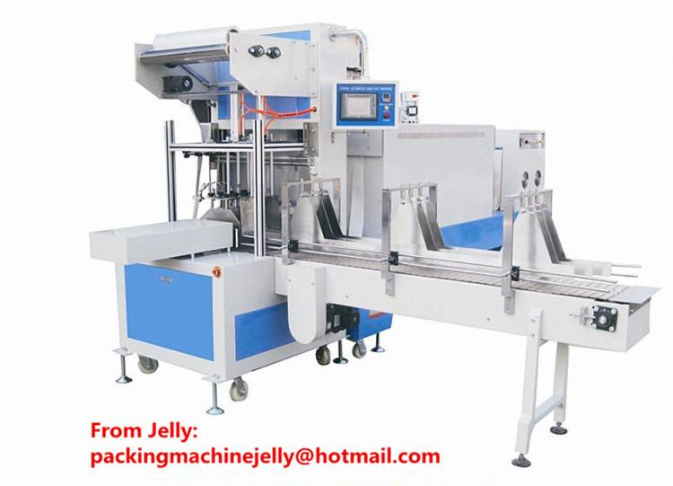 ST6030AF Full Automatic cans sealing and shrinking machine