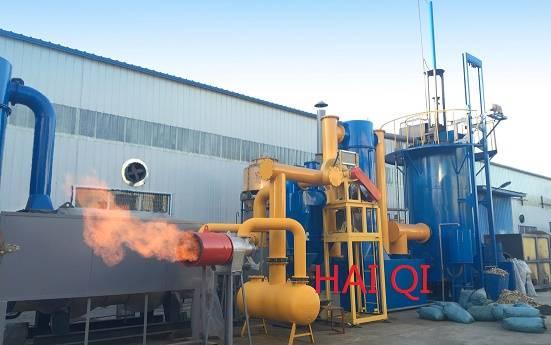 Rice husk gasifier furnace (Biomass gasifier furnace for drying equipment)