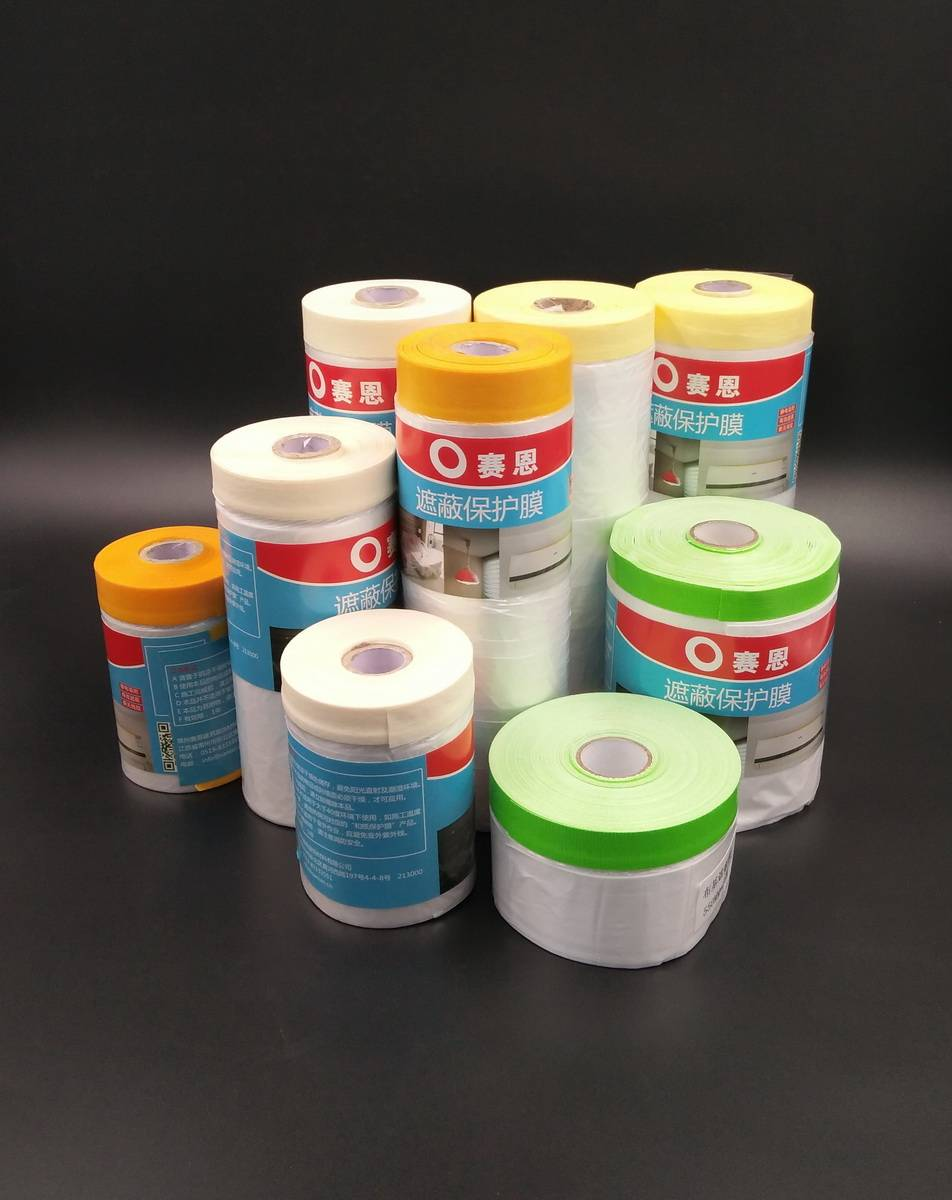 selling quality painter's masking plastic film