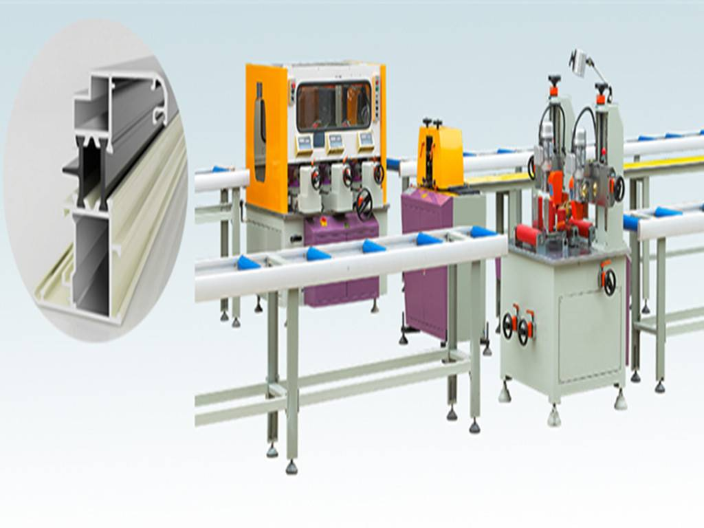thermal bar insulating machine