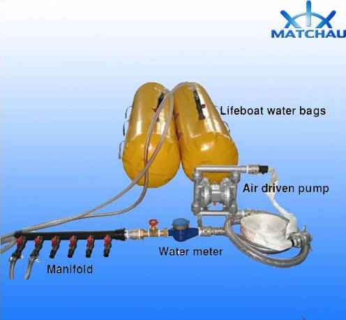 500kg Pvclifeboat Load Test Water Bag