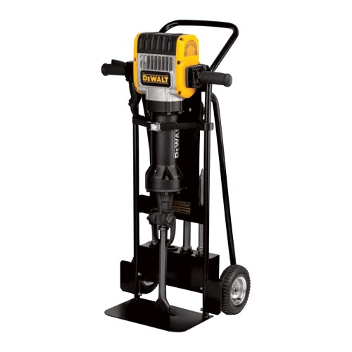 DEWALT Heavy-Duty Pavement Breaker with Hammer Truck and Chisels