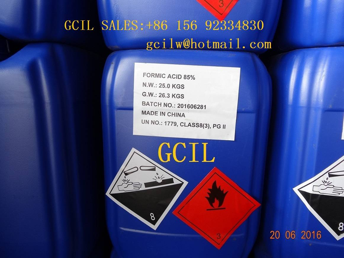 Formic Acid 85% for leather industry
