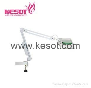 5 X magnifying lamp with clamp
