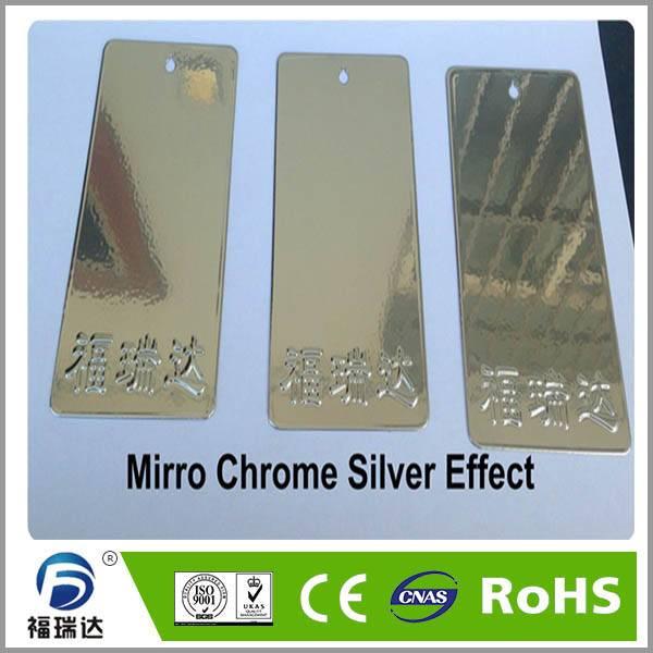 Supply chrome mirrior effect powder coating paint