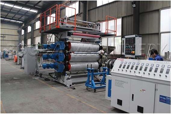 PVC Plastic Artificial Marble Sheet Production Line