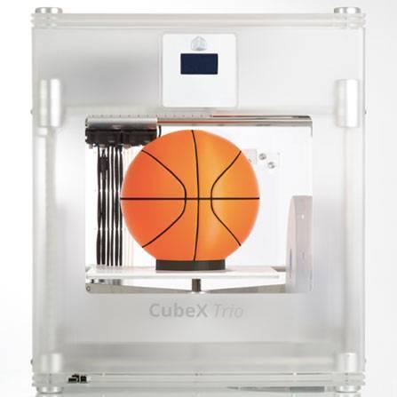 CubeX Trio 3 color 3D Printer