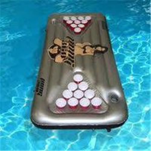 Inflatable beer pong table Inflatable beer pong float Inflatable beer pong mattress raft