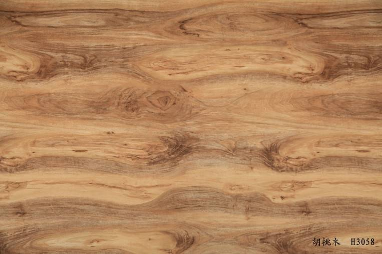 Wood Grain decorative paper for floor surface