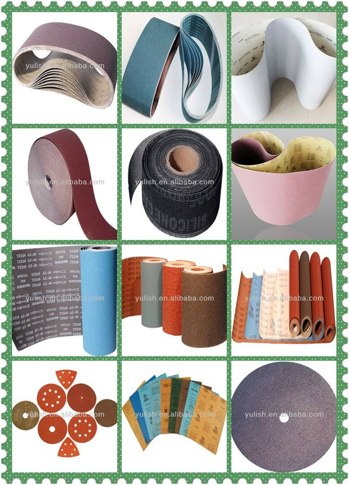 wholesale price of abrasive paper/belt/cloth/roll