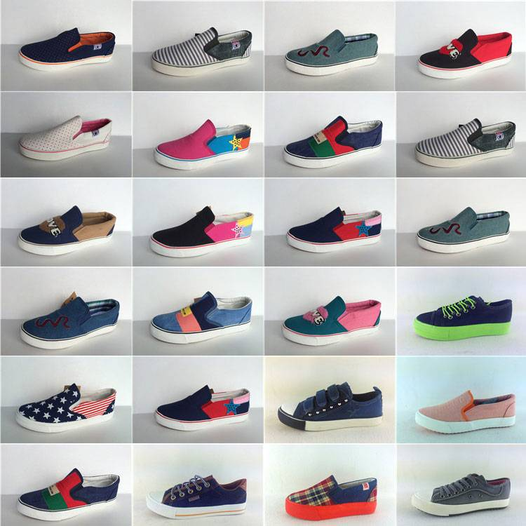Cheaper stock shoes for sales promation