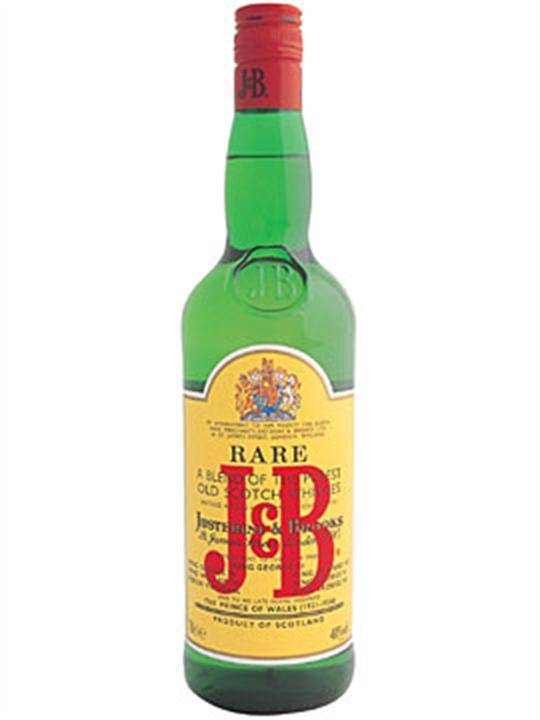 J & B Scotch