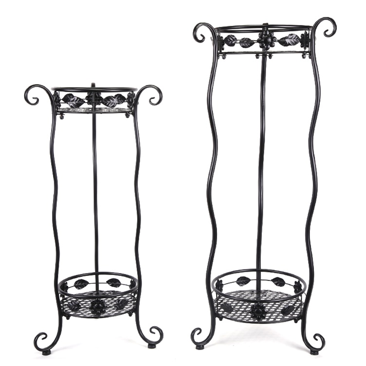 Wave iron flowers rack-small size