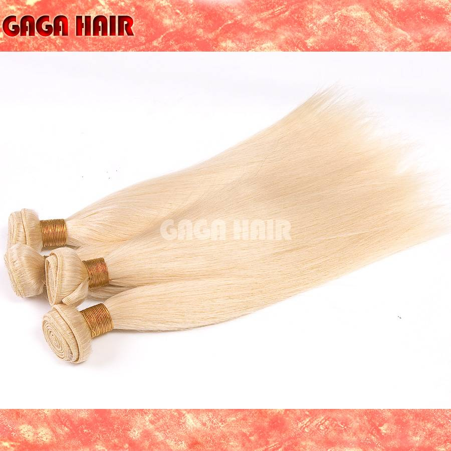 100% virgin human hair extension weft and closure