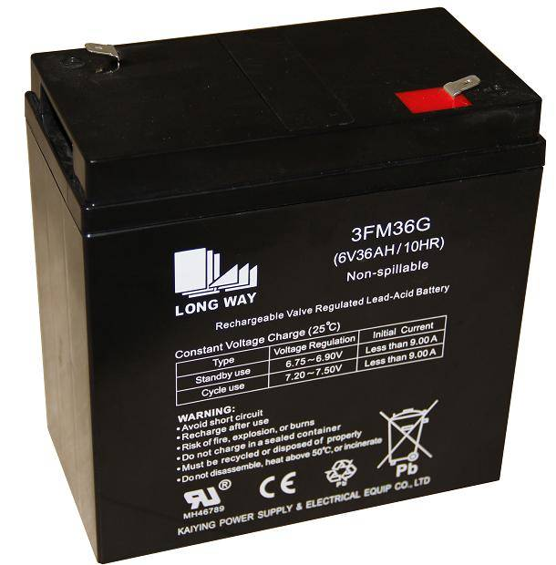 Sealed Lead Acid battery/ 3FM36(6V36AH/10hr)