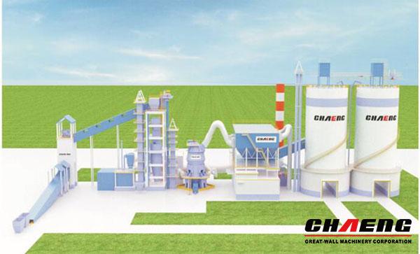 GGBS slag grindding plant