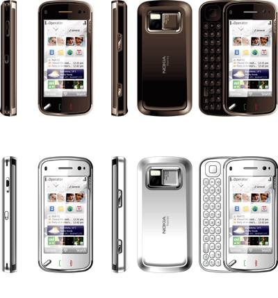 N97 Touch Screen Mobile Phone