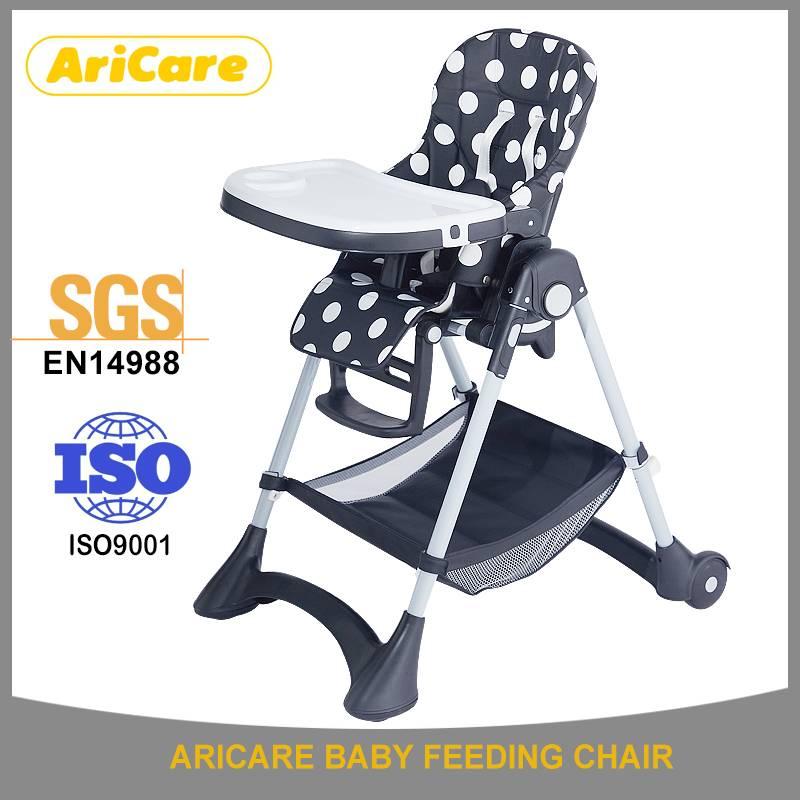 2016 New Design Baby Sitting Feeding High Chair