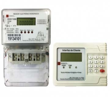 DDSY1088 Single Phase Split Type Two Wire Postpaid Energy Meter