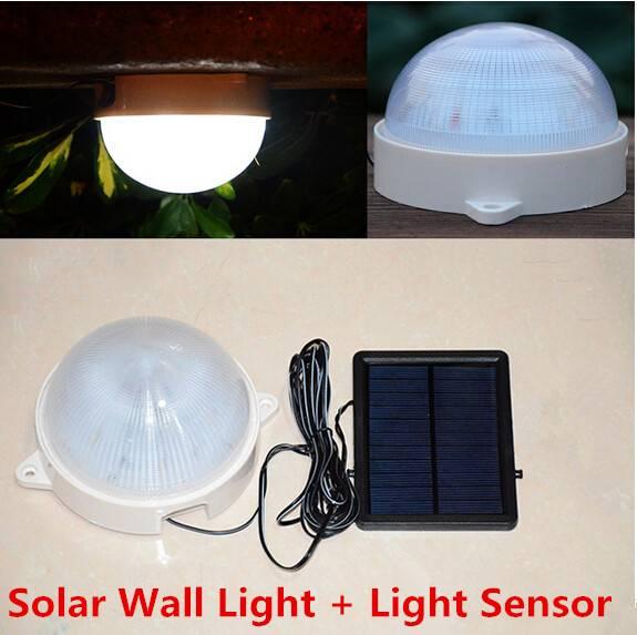 5LED infrared sensor light solar light wall lamp outdoor lamp