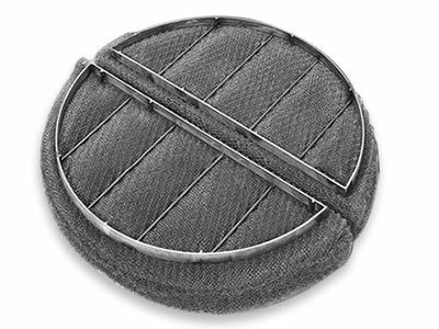 Nickel knitted demister pad & mist eliminator for sale