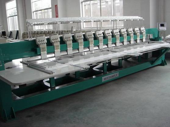 Butterfly Multi-Head Embroidery Machine