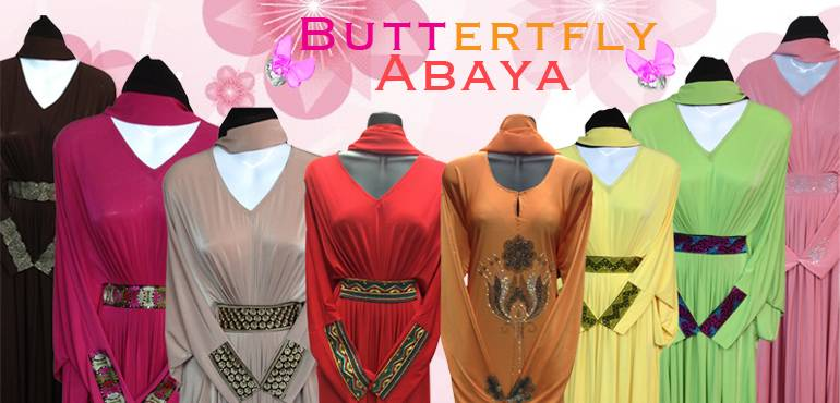 wholesale butterfly Abaya 14$ and 18$