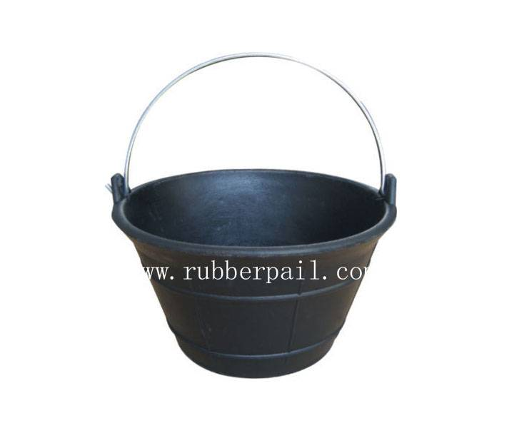 rubber bucket,cement bucket,handle bucket,rubber product