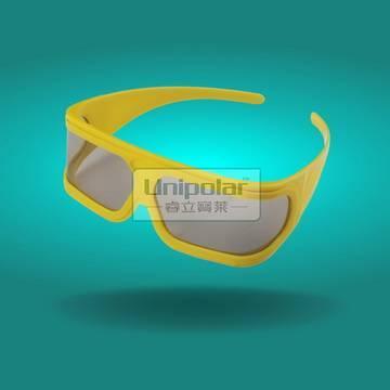 CAB29LPY Plastic Linear Polarized 3D Glasses