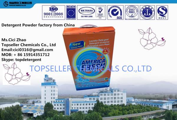 PAPER Box Detergent powder 1lg 3kg 5kg detergente washing powder manufacturer from China