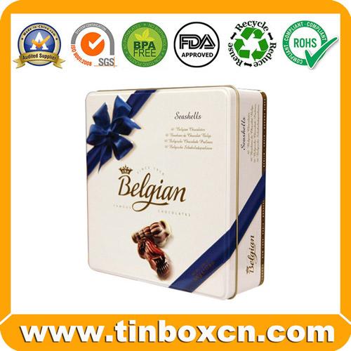 Sell tin chocolate can,tin chocolate box,chocolate tin packaging,food packaging box