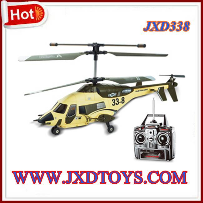 JXD 33-8 SkyWolf Shipboard 3CH RC Helicopter with Buit-in Gyro LED Light