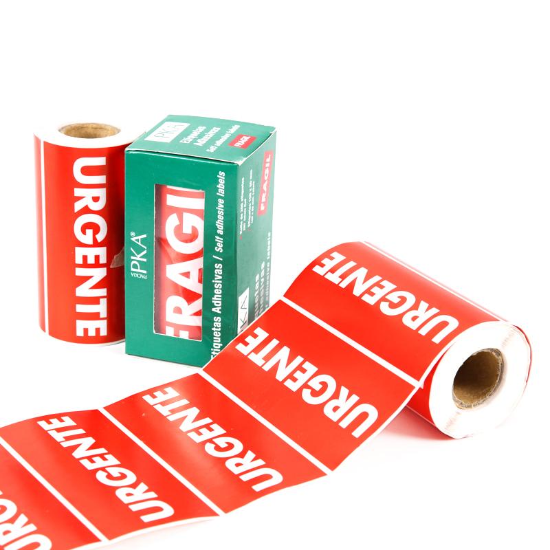 Self-adhesive Custom Sticker & Label Rolls