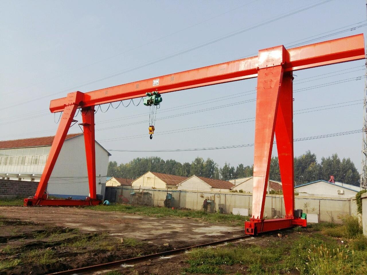 Professional Manufacturer 16 ton Single Beam Gantry Crane