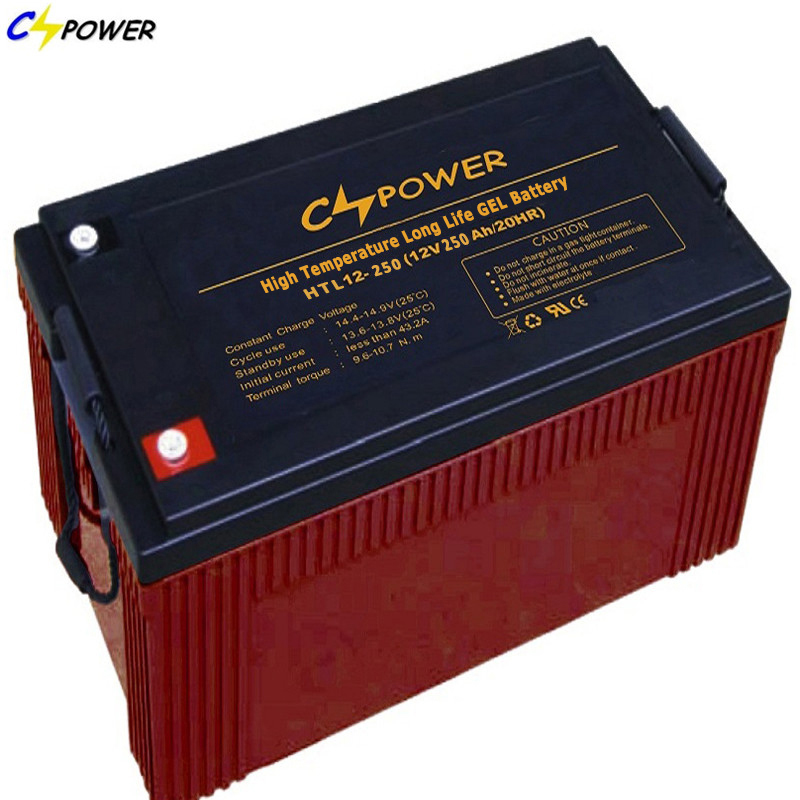 Cspower High Temperature VRLA Gel Battery for Photovoltaic Htl12-250