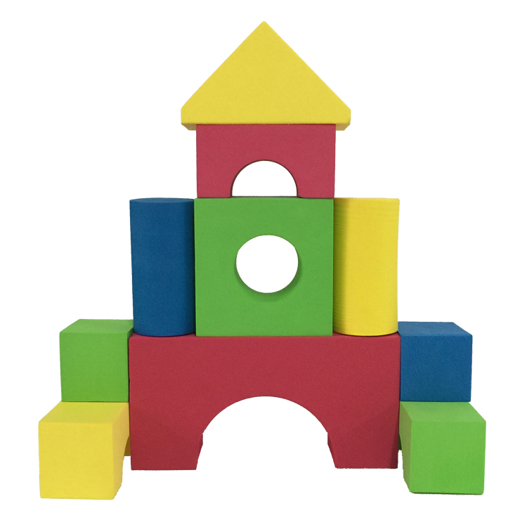 Melors Children Play Soft Educational Foam Buiding Block Toy