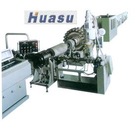 plastic pipe machine-PE Steel Wrapping Reinforced Pipe Extrusion Line
