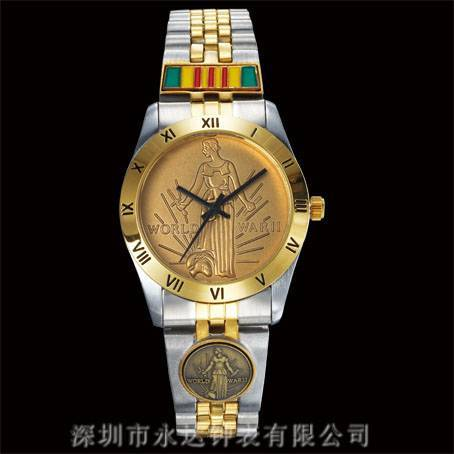 Alloy wrist watch
