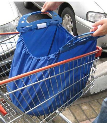 supermarket shopping trolley bag