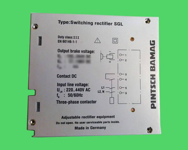 SWITCH RECTIFIER SGL