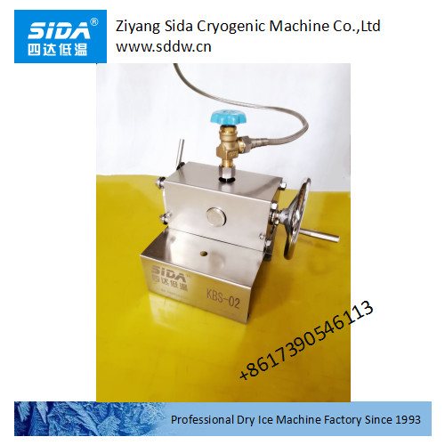 sida factory price of semi auto dry ice making machine 30kg/h