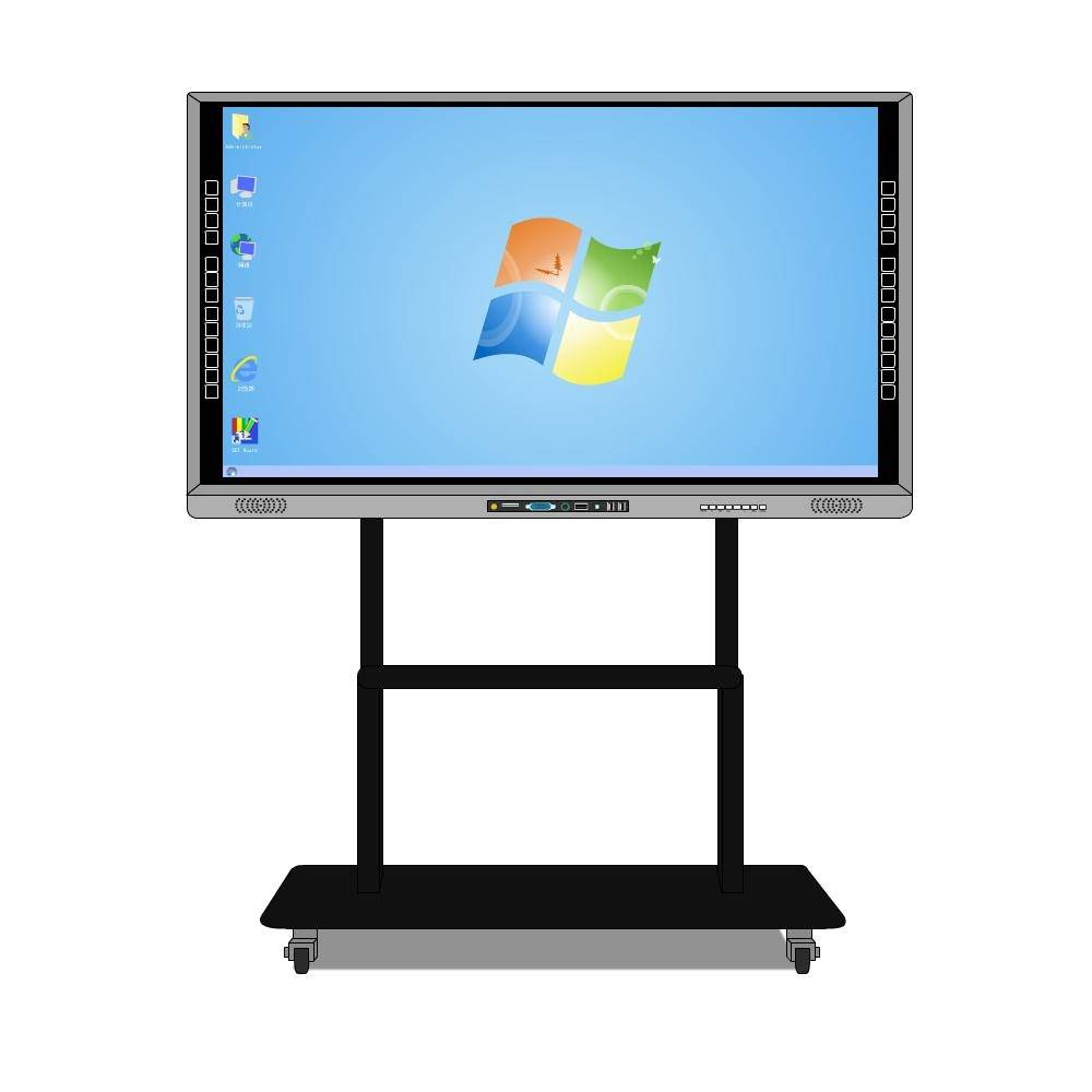 touch led interactive whiteboard