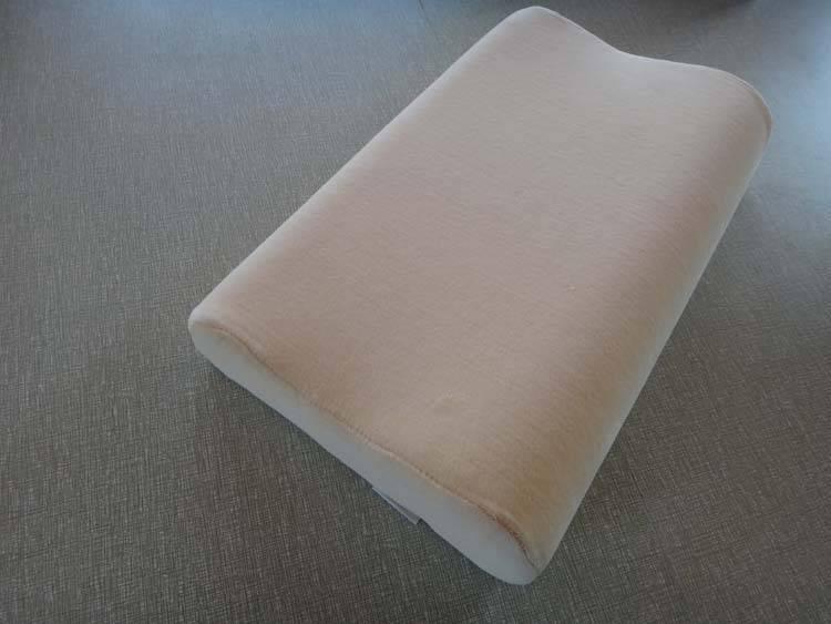 Wave Shape Contour Memory Foam Baby Pillow