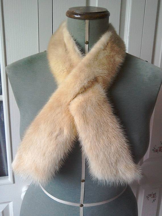 100% real Top Quality mink Fur Trim for hood