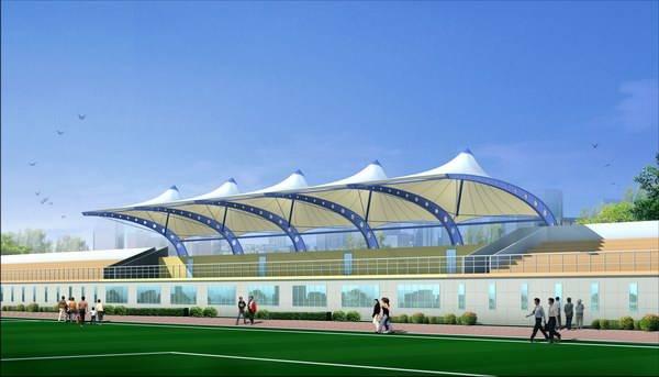 Architecture Membrane for sports stadium
