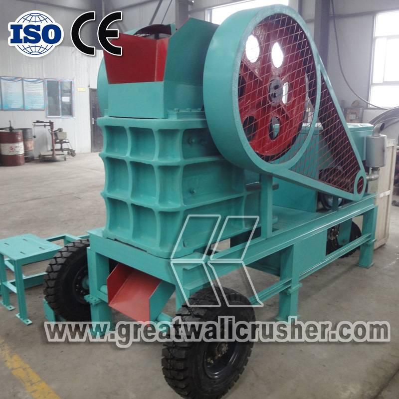 Diesel Engine Crusher