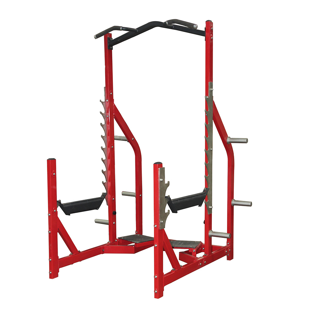 Realleader Body Building Fitness Gym Equipment Crossfit Olympic Power Rack (HS-1043)
