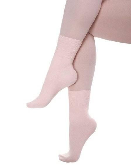 Dance socks, ballet socks, stock nylon socks