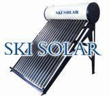 Non pressure solar water heaters with porcelain enamel tank(SKI -NP )