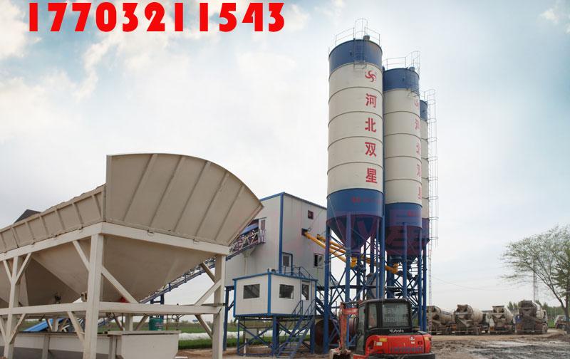 long-term sales of HZS60 concrete batching plan